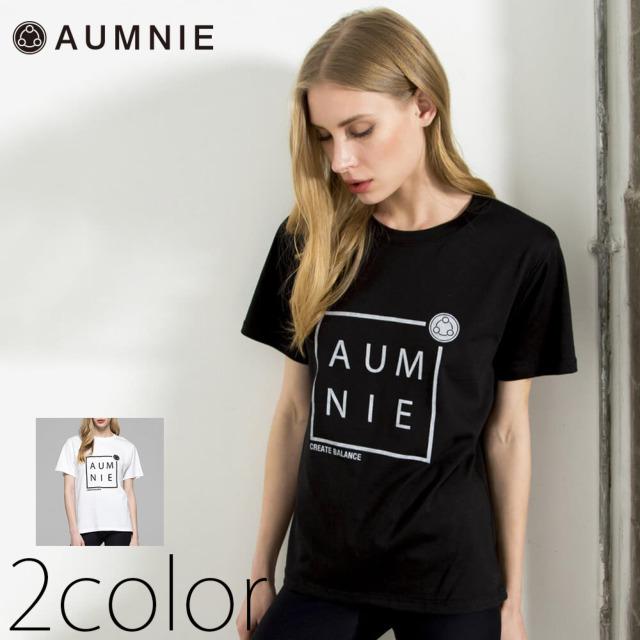 【アムニー】ボックスロゴクラシックTシャツ