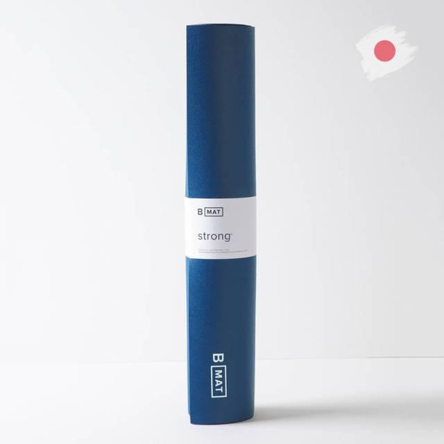 【ビーヨガ】日本限定61cm幅 ナローワイドBマット ストロング6mm/ディープブルー