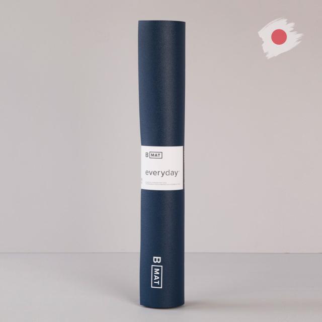 【ビーヨガ】日本限定61cm幅 ナローワイドBマット エブリデイ4mm/ディープブルー
