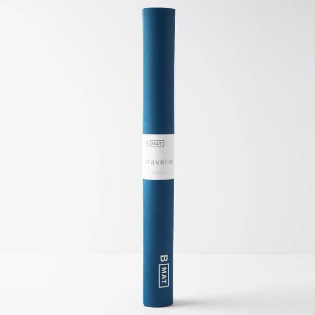 【ビーヨガ】Bマット トラベラー2mm/ディープブルー