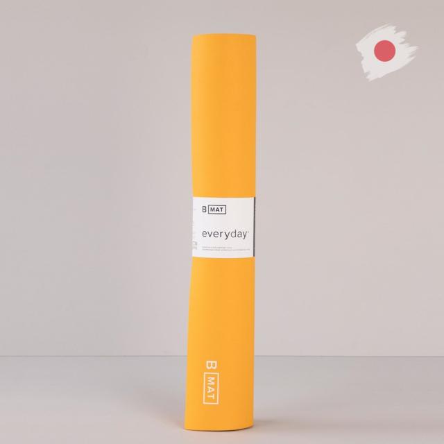 【ビーヨガ】日本限定61cm幅 ナローワイドBマット エブリデイ4mm/サフラン