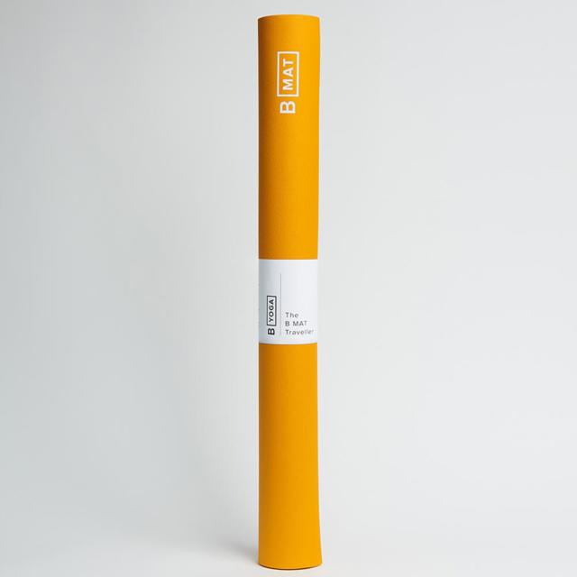 【ビーヨガ】Bマット トラベラー2mm/サフラン