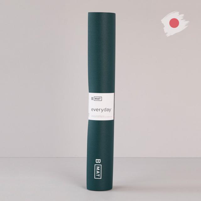 【ビーヨガ】日本限定61cm幅 ナローワイドBマット エブリデイ4mm/オーシャングリーン