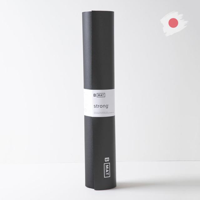 【ビーヨガ】日本限定61cm幅 ナローワイドBマット ストロング6mm/ブラック