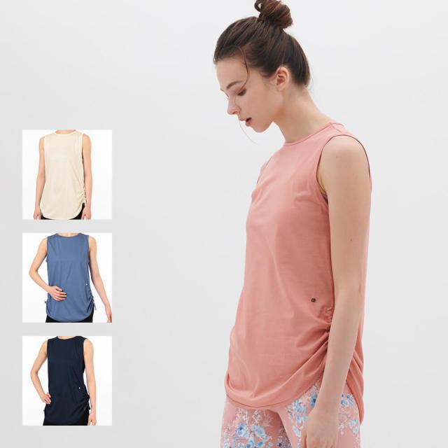 【チャコット】サイドドローストリングTシャツ