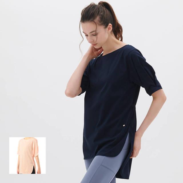 【チャコット】チュニックTシャツ