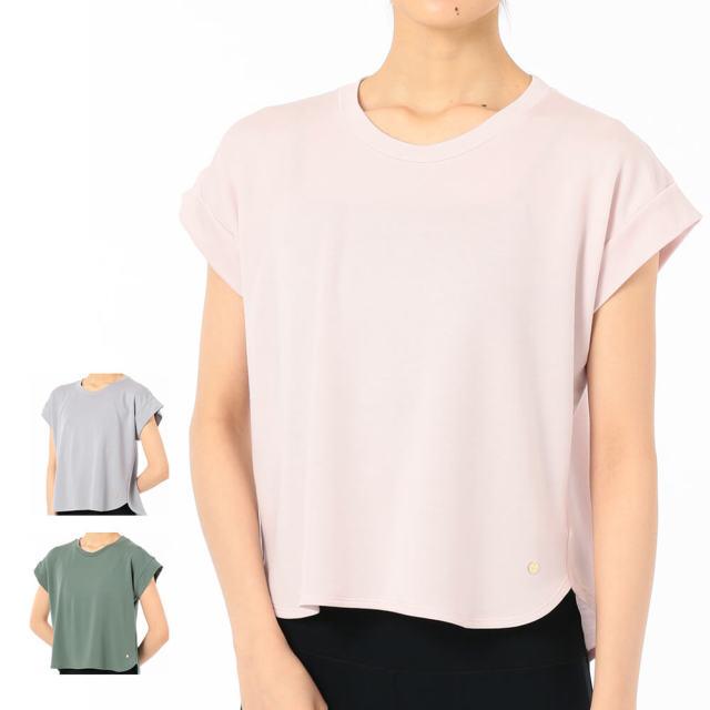 【チャコット】バックタックショートTシャツ