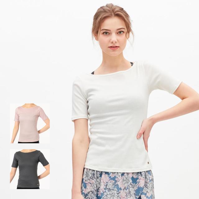 【チャコット】リブTシャツ