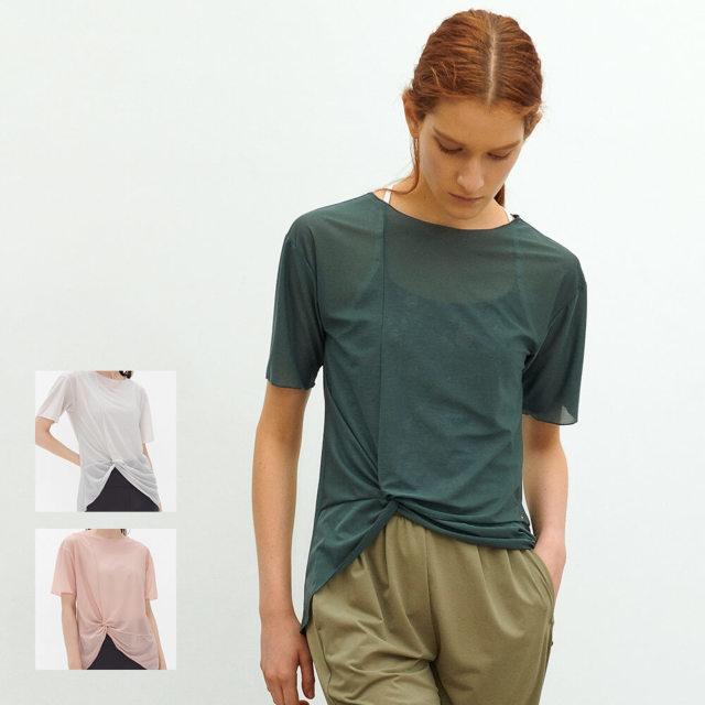 【チャコット】シフォンTシャツ
