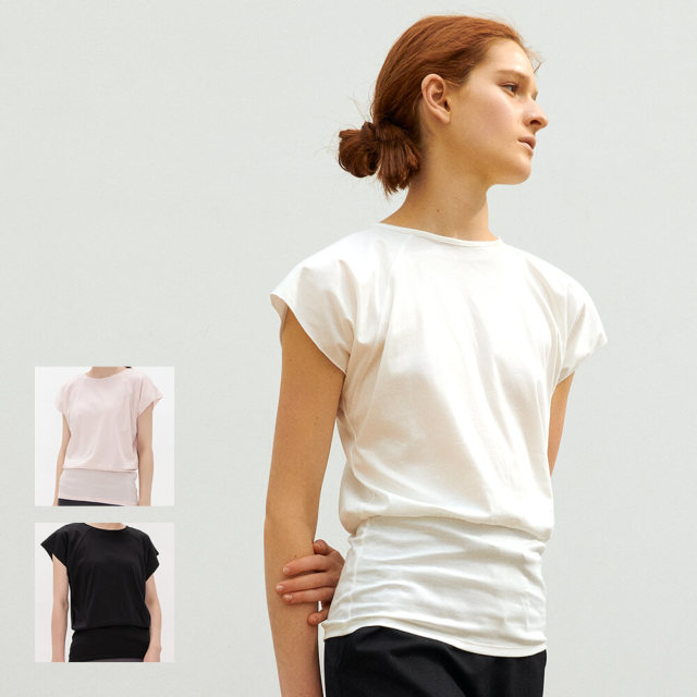 【チャコット】ウエストマークTシャツ