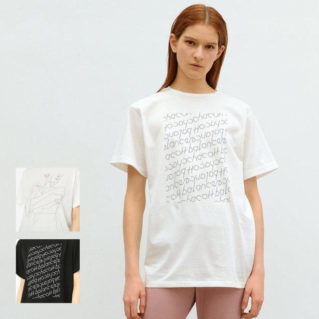 【チャコット】アートオーバーTシャツ