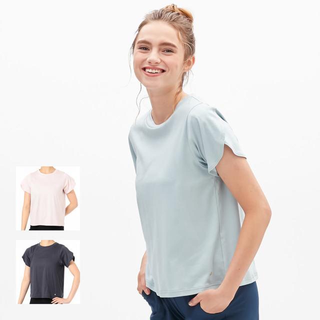 【チャコット】ペタルスリーブTシャツ