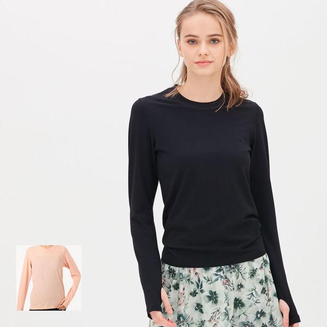 【チャコット】成型ロングスリーブTシャツ