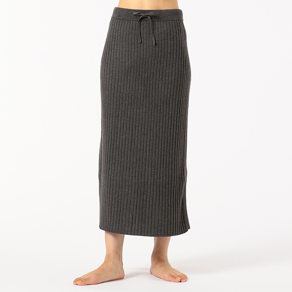【チャコット】ロングニットスカート