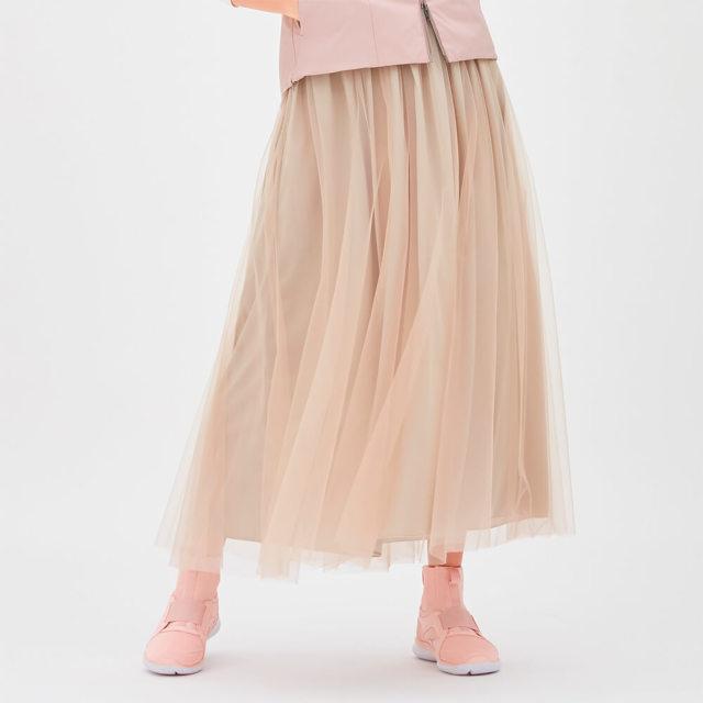 【チャコット】チュールスカート