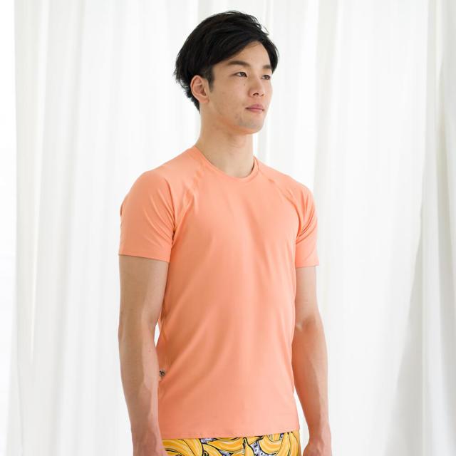 【リンダワークス】メンズTシャツ/枇杷(びわ)