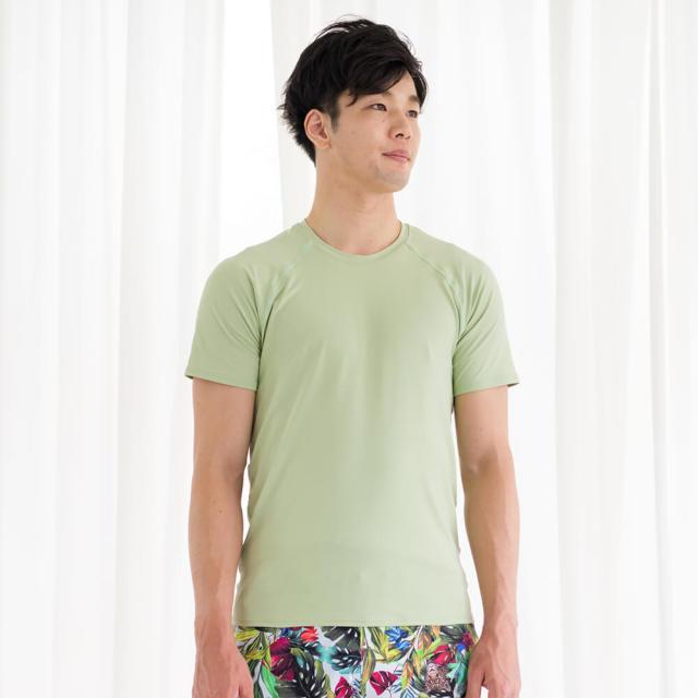 【リンダワークス】メンズTシャツ/抹茶