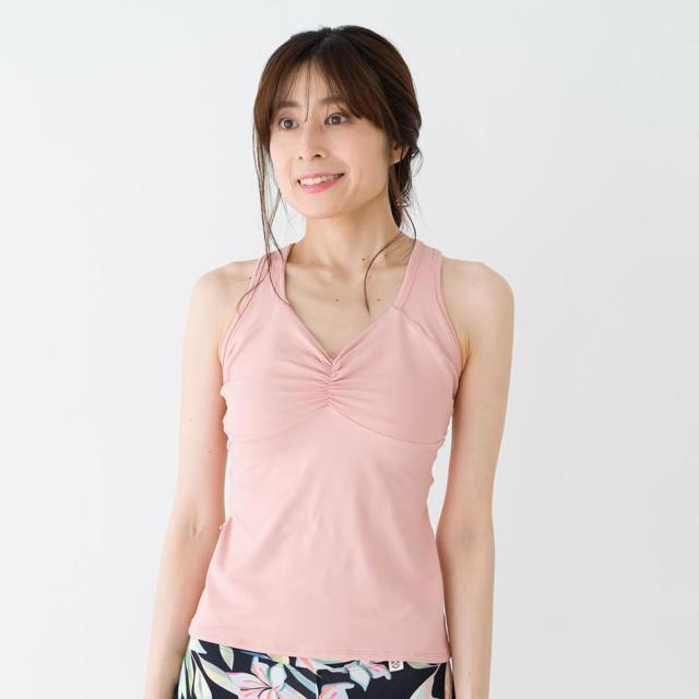 【リンダワークス】エラスティタンク/エクリュ
