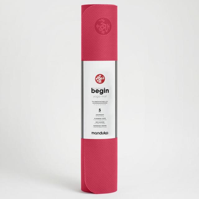 【マンドゥカ】beginヨガマット(5mm)ダークピンク