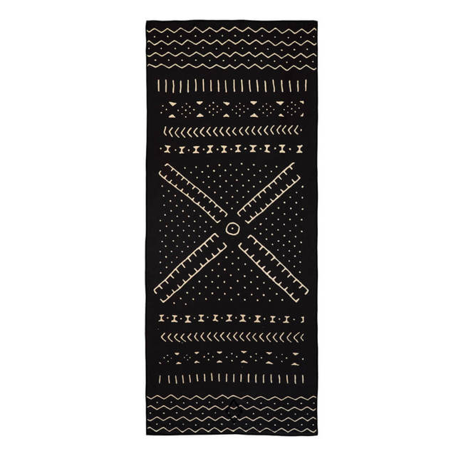19/MUD CLOTH//BLACK