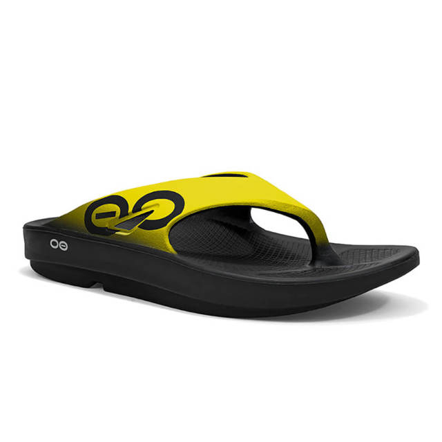 【ウーフォス】OOriginal Sport - Black/Yellow