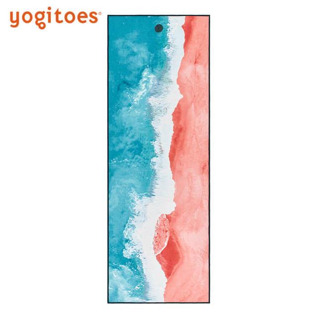 【ヨギトース】スキッドレス マット/ラインビーチ